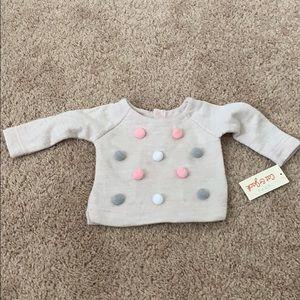 Baby girl Pom Pom sweater